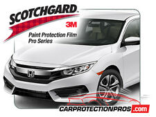 3M Scotchgard PRO Clear Bra Paint Protection Standard Kit for 2020 Honda Civic