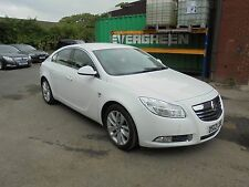 vauxhall insignia sri nav cdti 2012 white (spares or repairs salvage non runner