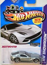 HOT WHEELS 2013 HW SHOWROOM - ALL STARS FERRARI F12BERLINETTA ZAMAC W+