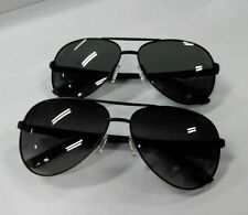 Aviator sunglasses. Polarized. Pilot. Top gun. Gun metal or matte black