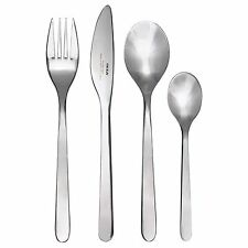 24-PIECE CUTLERY SET STAINLESS STEEL, NEW IKEA FORNUFT FORK, KNIFE, & SPOONS