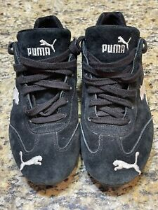 Puma Athletic Shoes Womens Sz 9.  From UK. Black Lace Up Good Used  Condition