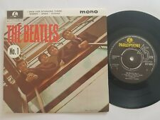 "BEATLES NO 1 UK REISSUE EP 7"" VINYL"