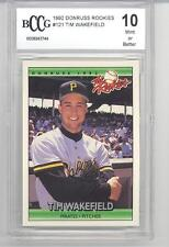 """1992 Donruss """"The Rookies"""" Tim Wakefield (Rookie Card) (#121) BCCG10 BCCG"""
