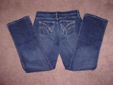 Women Wrangler Q-Baby Denim Stretch Jeans SiZe 7/8 x 32 EUC!!!