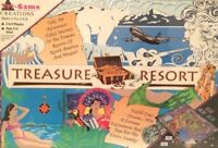 Treasure Resort Fun Family Board Game  Ages 8 to Adult