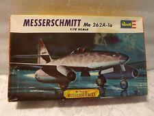 Vintage Revell Messerschmitt ME 262A-1a 1/72 Scale Model Kit Unstarted/ Complete