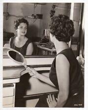 ROSANNA PODESTA sexy Italian actress at mirror 1956 Vintage Orig Photo SANTIAGO