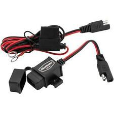 BikeMaster USB Charger Kit Motorcycle Electrical Cell Phone Tablet GPS Iphone