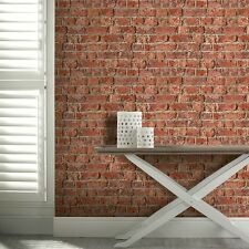 Red Brick Wallpaper Urban Bricks by Arthouse Realistic 3D Effect 696600