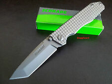 "Schrade 4.6"" H/duty Frame Lock Tanto Blade SCH308 Folding Pocket Knife Hunting"