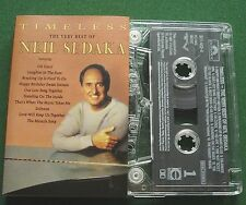 Neil Sedaka Timeless Very Best inc Oh Carol + Cassette Tape - TESTED