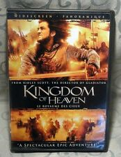 Kingdom of Heaven - DVD - 2005 - Ridley Scott - with The PilGrim's Guide