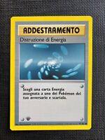 Pokemon Distruzione di Energia 1st Edition Base Set Italiano #92/102 NM-M (T)
