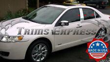 2006-2012 Lincoln MKZ 6Pc Chrome Pillar Post Stainless Steel Trim Door Cover