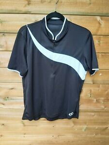ALTURA SPIRIT Women's Black & White Cycling Jersey Top Fit L Size 16/18