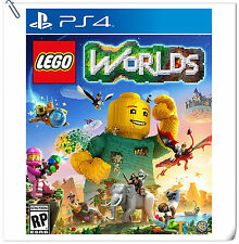 PS4 The LEGO Worlds SONY PlayStation Warner Home Video Action Games