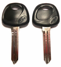 2 NEW REPLACEMENT NON-TRANSPONDER UNCUT KEY BLANK FIT HYUNDAI KIA - MADE IN USA