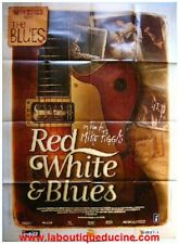 RED WHITE AND BLUES Affiche Cinéma / Movie Poster BB KING MARTIN SCORSESE