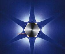 LED  Innen - Aussenleuchte up down Alu 6x 1W PLED STAR