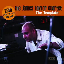 "JAMES TAYLOR QUARTET ""THE TEMPLATE"" CD new Jazz modern"