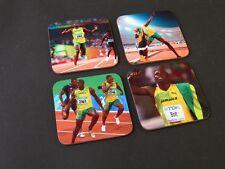 Usain Bolt Jamaica Athletic COASTER Set