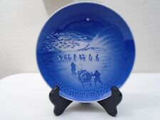1972 Bing and Grondahl B & G Christmas Plate Christmas in Greenland Mint