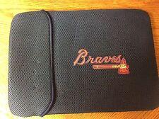 "Atlanta Braves 15"" laptop computer macbook case note book sleeve blue new 96"