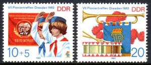 Germany DDR/GDR 2282-2283, MNH. 7th Pioneer Meeting, 1982