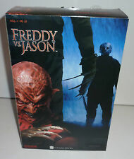 freddy vs jason 12'' sideshow collectibles 2004 new nisb #7306