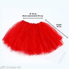 High Quality Ladies Girls Tutu Skirt Fancy Skirts Dress Up Hen Party 3 Layers B4