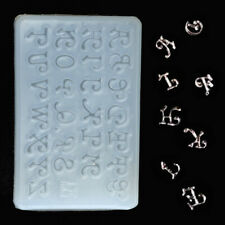 Letters Silicone Mould DIY Resin Craft Necklace Jewelry Making Resin Molds US