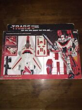 Vintage G1 JETFIRE 100% complete With box in excellent condition 1984 Hasbro