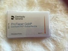 Protaper Gold F1 Gutta Percha Points Dentsply Tulsa Box Of 60 Dental Universal