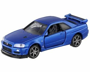 Takara Tomy / Tomica Premium No.11 Nissan GT-R V-SPEC2 Nur R34 / 1:62