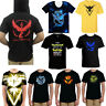 Pokemon Go T-shirt Team Valor Mystic Instinct Casual Tops Blouse Casual Tee