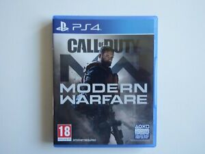 Call of Duty: Modern Warfare on PS4/PS5 in MINT Condition