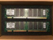 New listing Kingston ValuRam 512Mb (2x256) 133Mhz Pc133 Non-Ecc Unbuffered Cl3 168-Pin Sdram