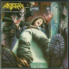 ANTHRAX -Spreading The Disease CD -1985 -IMCD 136 (826 668-2) Thrash Metal