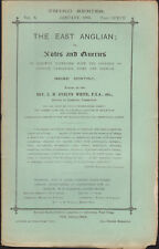 The East Anglian or Notes & Queries Rv Evelyn White Vol X Jan-Dec 1903 12 iss