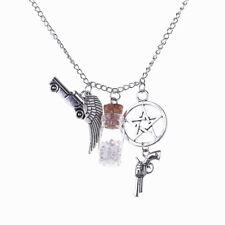 SUPERNATURAL Inspired Dean Salt Bottle Necklace protection amulet pendant USA