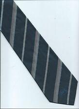 AFL CORPORATE TIE  Supporter Tie AFL collector Blue Grey stripe