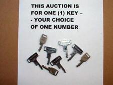 Honda NOS precut ignition key CB CL SL XL CT 70 100 125 175 350 350F 1968-76