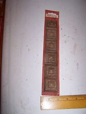 1970 Original Furniture Decorative TRIM Molding Parts Pieces - Corner - #21