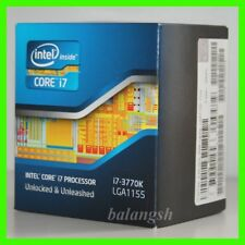 New Intel Core i7-3770K 3.5GHz Quad-Core (BX80637I73770K) Processor NIB