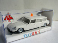 CITROEN DS 19 BREAK AMBULANCIA AMBULANCE 1/87 TOYEKO TOY EKO NOVEDAD NOVELTY