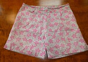 LILLY Men's Bathing Trunks XL Pulitzer pink turtles