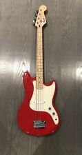 Fender Squier   4-String Bronco Red Guitar 46""