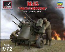 Armory 1/72 (20mm) M45 Quadmount 0.5cal AA Pistola su M20 Rimorchio