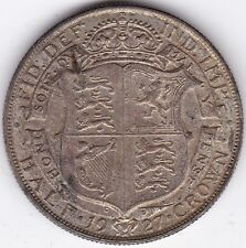 1927 George V Silver Half-Crown | Pennies2Pounds